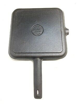 Victor UK England Cast Iron Grill Skillet Robert Welch UNUSED Heavy & Quite Rare