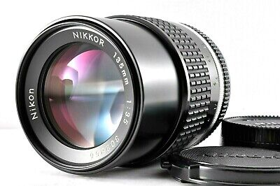 Mint Nikon Nikkor AI-S 135mm f/3.5 MF Manual Focus Lens from Japan #BB21