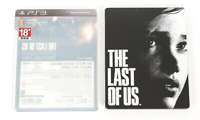 The Last of Us - Playstation 3 PS3 Steelbook Case & Game