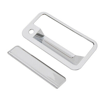 92-94 Chevy Blazer Chrome ABS Tailgate with Keyhole Handle Cover