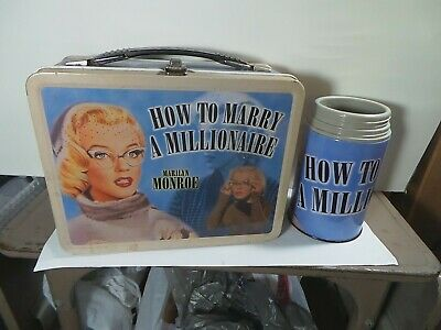Marilyn Monroe Lunch Box. With Thermos