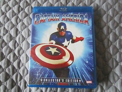 Captain America (Blu-ray Disc, 2013, Collectors Edition)**MARVEL**SHOUT FACTORY