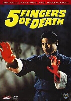 5 FIVE FINGERS OF DEATH -Hong Kong RARE Kung Fu Martial Arts Action movie - NEW