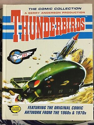 Classic Comics THUNDERBIRDS The Comic Collection A Gerry Anderson Production