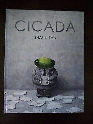Cicada by Shaun Tan True First Edition SIGNED