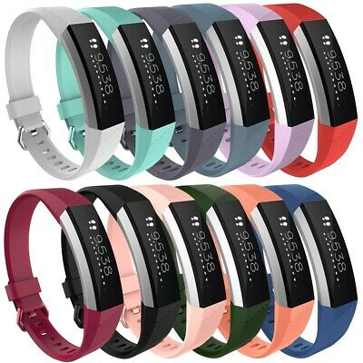 for Fitbit Alta / Alta HR Soft Silicone Watch Band Replacement Strap Bracelet UK
