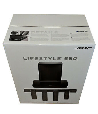 Bose Lifestyle 650 home theater system Brand New Black Color