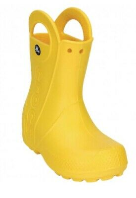 Brand New Crocs Wellies Size 1 Yellow Wellies