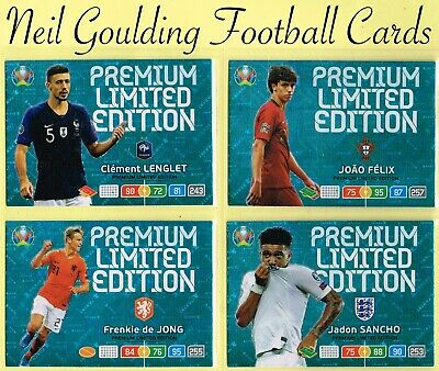 Panini EURO 2020 ☆☆☆☆ LIMITED EDITION ☆☆☆☆☆ Adrenalyn XL Football Cards