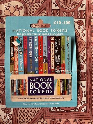 National Book Tokens £10 Gift Card