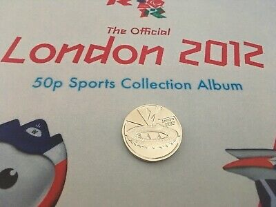 London 2012 Olympic 50p completer medallion uncirculated coin hunt