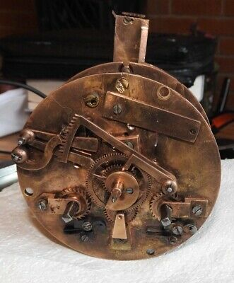 Late 19th Century French Clock Movement