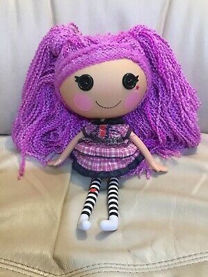 Lalaloopsy Full Size Doll Purple HaIr Excellent Condition