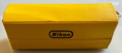Genuine Vintage Nikon Camera Care Set in Branded Case, Rare Collectible Useable