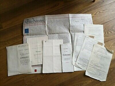 Covenant Indenture mortgage deed Wilmcote Alcester Warwickshire parchment