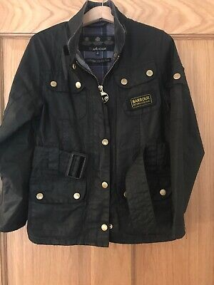 Childrens Barbour Jacket Size S 6-7