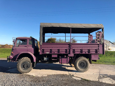 Bedford MJ Truck and Personnel Carrier - 4WD, PA system, Hydraulic Stairs