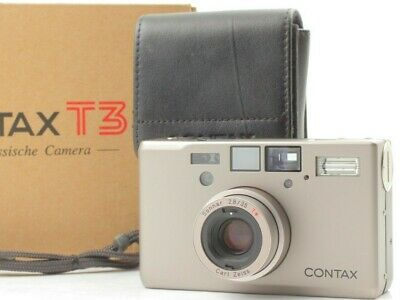 【TOP MINT in Box】 Contax T3 35mm Point & Shoot Film Camera From JAPAN #1619