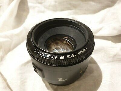 Canon EF 50 mm f/1.8 fifty fifty