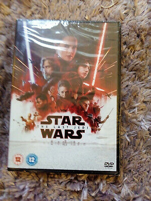 Star Wars - The Last Jedi  (Dvd) Original New & Sealed
