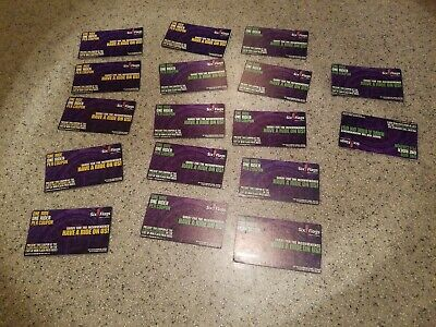 17 SIX FLAGS GREAT AMERICA Flash Fast Passes. NO LINE..NO EXPIRATION...NO WAIT..