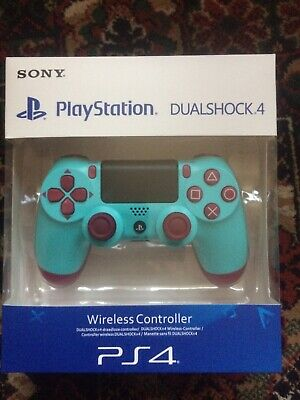 Sony PlayStation PS4 DualShock 4 Controller V2 Berry Blue FAULTY-see Description