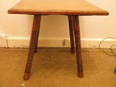 Arts and Crafts Goodyers table William Birch/Liberty? Oak Regent /Bond Street