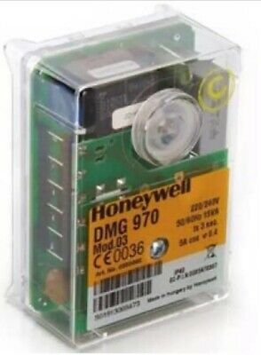 Satronic DMG970 Mod.03 Control Box for Gas Burner Safety Controller (Honeywell)