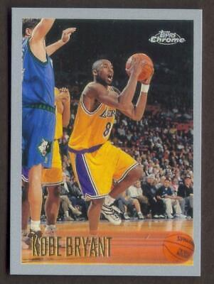KOBE BRYANT Rookie RP #138 Lakers RC Mamba '96 Chrome Free Shipping