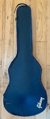 Vintage Guitar Case Gibson 1960's or 1970's Red Lining