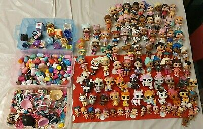 HUGE LOL Surprise Doll bundle 51 DOLLS, 22 Pets & 21 Baby Dolls and accessories