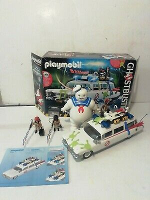 PLAYMOBIL 9220 Ghostbusters Ecto-1 Vehicle + Stay Puft