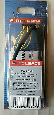 Autoleads PC99-KEN Multistalk Adapter Patch Lead for Kenwood Head Units