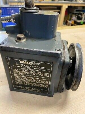 Edwards 2520B Speedivac High Vacuum Pump.