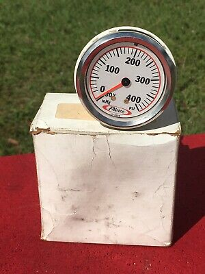 Class 1 Pierce Hale Fire Service Gauge Pressure Gauge 30inHg to 400 PSI