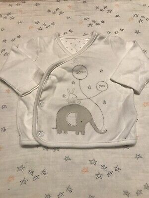 Mothercare 0-3m Baby Boy Girl Neutral Wrap Cardigan Outfit Set Unisex