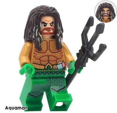 G3 - Aquaman Marvel - Custom Moc Minifigures Compatibile LEGO - Nuovo in Blister