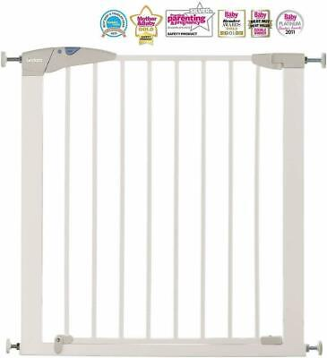 Lindam Sure Shut Axis Pressure Fit Safety Gate 76 - 82 cm White