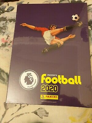 Panini Football 2020 Premier League Official Hardback Album with Slip cover