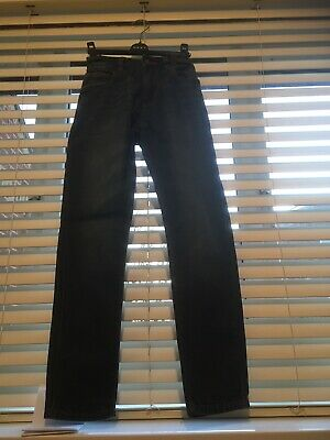 Boy's Next Skinny Denim Blue Jeans Aged 11 Years (146cm)