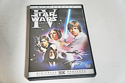 Star Wars Episode Iv A New Hope Dvd