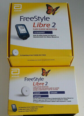 FreeStyle Libre-2 ✿ Lesegerät ✿ mg/dL ✿ NEU ✿ OVP ✿ WORLDWIDE SHIPPING ✿.+