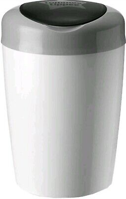 Tommee Tippee Simplee Sangenic Baby Diaper Bin nappy Disposal System White/Gray