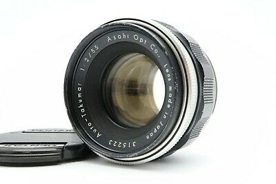 <Excellent> Asahi Pentax Auto - Takumar 55mm F/2 Lens MF M42 from Japan #214