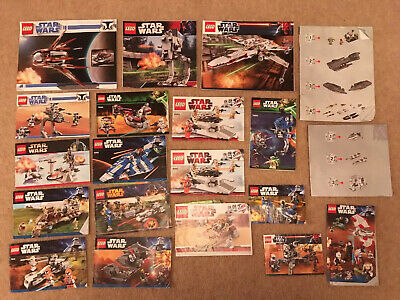 Lego Star Wars Instruction Booklets Books inc 9493