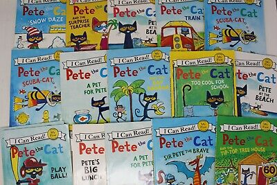 Pete the Cat I Can Read - Lot of 10 Books - Unsorted/Random Pick!