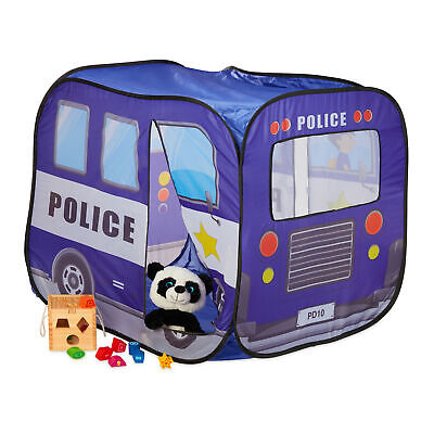 Pop Up Play Tent Police, Ball Pit, Ball Pool, Playhouse, Police Patrol Car