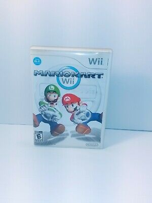 Wii Mario Kart (Nintendo Wii, 2008) - Tested and Working Complete with manual