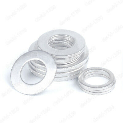 50pcs M7 ultra-thin washer gasket stainless steel washers gaskets 12//13//14mm OD