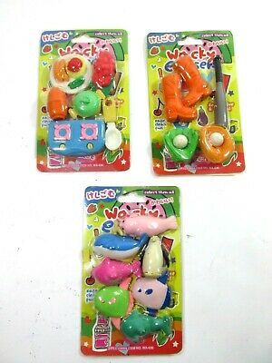 2009 Wacky Packages Erasers Set 3